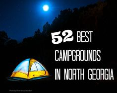 Looking for the Best Campgrounds in North Georgia? The best spots for tent camping in the mountains including Helen, Blue Ridge, and more. Camping Places, Camping Spots, Camping World, Camping And Hiking, Camping Life, Family Camping, Tent Camping, Camping Gear, Outdoor Camping