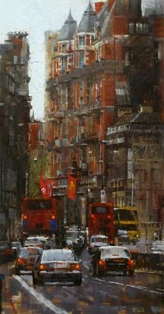 Mark Lague - High Kensington Street - London's calling