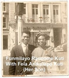 (2. Entrepreneurial female icon)  Funmilayo Ransome-Kuti  I'm Nigerian and this phenomenal woman is one of my heroes, Although she is more known for her activism and being the mother of Fela, it all started in the market place where she helped women entrepreneurs with their businesses. Her feminism lead to the creation of The Abeokuta women's union (AWU) a movement that aided Kuti to promote women's rights to education, employment and to political participation.  #modcloth #makeitwork