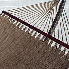 Double Caribbean Hammock - 48 inch - soft spun polyester - mocha Caribbean Hammocks http://www.amazon.com/dp/B00PFV1TS6/ref=cm_sw_r_pi_dp_28GUwb1T3YB8W