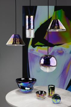 New 2016 Collection from Tom Dixon: Flash Pendant Oil Family