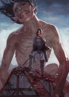 Attack On Titan (Shingeki no Kyojin) Ymir fanart