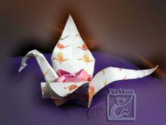 origami Tsuru Rose Dragon