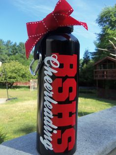 Coolest, Cutest, & Best Unique Zebra Print Gifts And Gift Ideas For Zebra Lovers Cheer Coach Gifts, Cheer Coaches, Cheer Gifts, Team Gifts, Cheerleading Cheers, Football Cheer, Cheer Camp, Water Bottle Crafts, Water Bottles