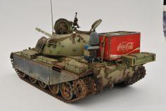 """Loot"" Serbian T-55MBT | 1:35 scale"