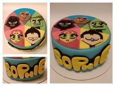 teen titans go! 6th Birthday Cakes, Girl 2nd Birthday, 9th Birthday Parties, Birthday Ideas, Teen Titans Go, Cakes For Boys, Party Themes, Birthdays, Cake Ideas