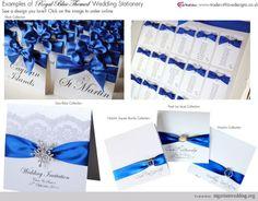 winter wedding cobalt blue | Wedding Theme: Alluring Cobalt Blue... | | winter wonderland wedding