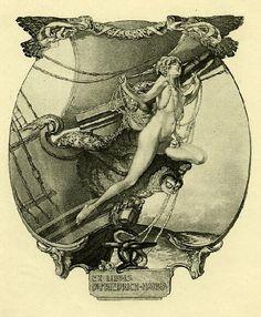 Franz von Bayros: Exlibris 14