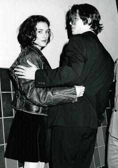 Winona Ryder & Johnny Depp, 1990