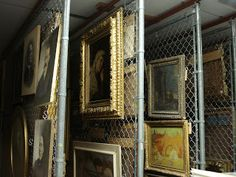 Haggin Museum Docent Council: Art Trainees View Fine Arts Storage