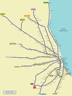 - imprail:  Metra Commuter Rail Chicago