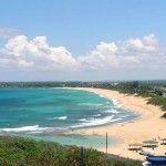 La plage de Nhat Le