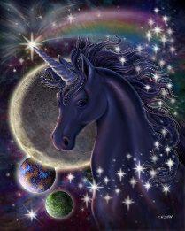 Unicorn And Fairies, Unicorn Fantasy, Unicorns And Mermaids, Unicorn Horse, Unicorn Art, Black Unicorn, Real Unicorn, Magical Unicorn, Fantasy Art
