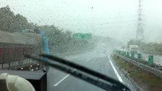 Taifu 15 (Roke) Caminhoneiro no Japão