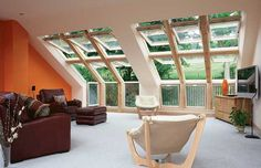 A loft conversion may be more complicated if you have a difficult roof construction.