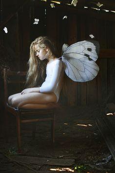 """Butterfly effect  In the light""  md:Eva; ph, decorations: Ksenia Alizabal"