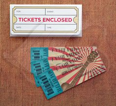 Hey, I found this really awesome Etsy listing at http://www.etsy.com/listing/126750307/concert-ticket-save-the-dates