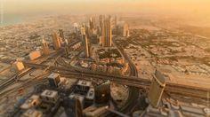 Hermoso time-lapse de la ciudad de Dubai