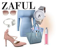 """THE BEST STYLE...ZAFUL"" by nurinur ❤ liked on Polyvore featuring Christian Dior"