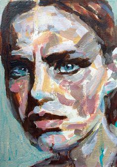 W.DECHANT - 6.1.2015 - 17 x 24 cm - acrylic / paper - NEXT TOMORROW