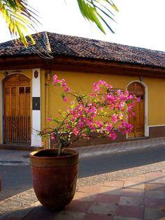 Casa colonial en Granada, Nicaragua.