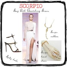 Sexy Goth Bewitching Scorpio Girl by redcarpetlook on Polyvore