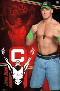 "John Cena - WWE 2014 - Never Give Up 24""x34"" Art Print Poster Trends International http://www.amazon.com/dp/B00N6YJ0LM/ref=cm_sw_r_pi_dp_2JqEub17YPM88"
