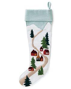 Town Hable Christmas Stockings