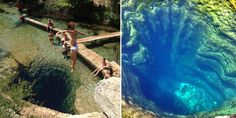 dangerous beautiful swimming hole, I need to read it now to find out why it is so dangerous