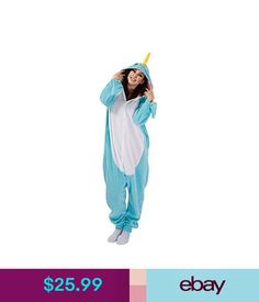 2d760f494e Costumes Animal Narwhal Cosplay Costume Adult Pajamas Sleepwear Fancy Dress   ebay  Fashion