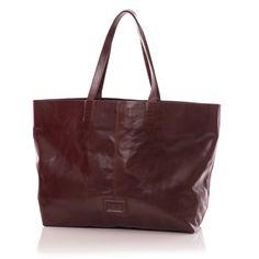 Shopper bag – torba na zakupy, chokolate – trendystyl