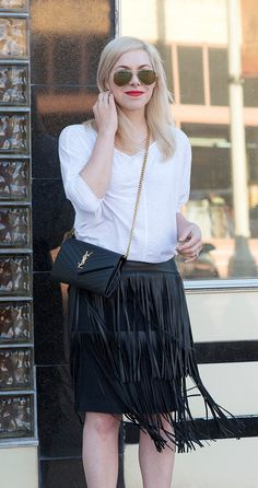 cute fringe skirt