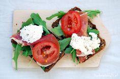Kuchnia Bazylii: Wiosenne kanapki