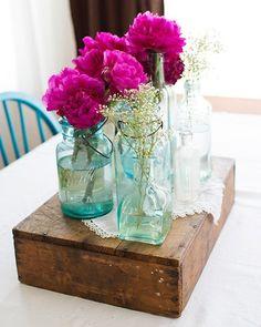 Du bois, du verre, des fleurs