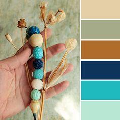 Color palette: polymer clay necklace | 15 стильных палитр от Ярмарки Мастеров - Ярмарка Мастеров - ручная работа, handmade