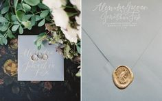 Meagan Tidwell Design   Invitation and Calligraphy for Alexandra Grecco   photography by Rylee Hitchner