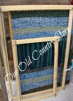 Our Old Country Store: Set of Two Rag Rug Looms Now Available