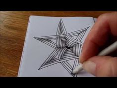 How to draw tanglepattern Auraknot - YouTube