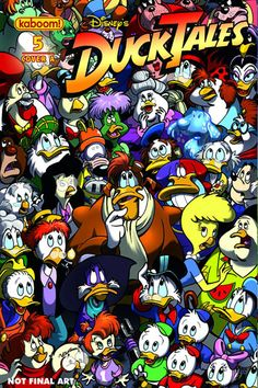 Duck Tales #5 cover