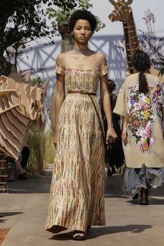 """Lineisy Montero at Christian Dior Haute Couture Fall 2017  """