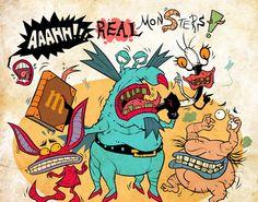 Ahhh! Real Monsters!