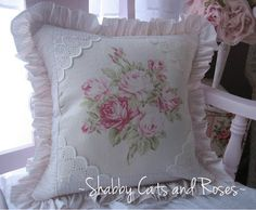 Shabby Cats and Roses: My Newest Creations