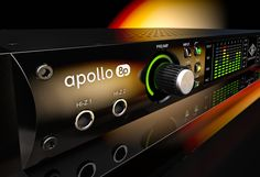 Visuals for the Universal Audio Apollo 8p, rendered in KeyShot by TB&O.