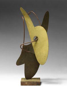 """Ettore Sottsass's """"Maquette spatiale"""" (circa 1946) ADAGP, PARIS 2015 Raoul Hausmann's """"Portrait de Hannah Höch"""" (1916) ADAGP, PARIS 201"""