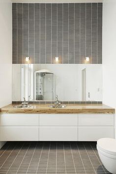 Can I get THIS FEELING with a sink instead of the candles? Probably not. Bathroom Vanity, Bathroom, Lighted Bathroom Mirror, Furniture, Home, Double Vanity, Bathroom Mirror, Home Decor, Room