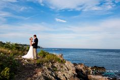 @durginphoto wedding photo on the point at Stage Neck Inn