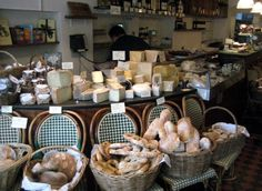 One of the best bakeries in London. The eponymous Sally Clarkes.