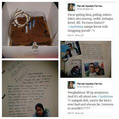 Latepost. #happy #birthday #seventeenth #boyfriend #love #surprised #gift