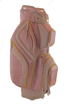 Golf Bags - Meet the undeniably beautiful Victoria Hunter Ladies Signature Series Golf Cart Bag available at Loris Golf Shoppe
