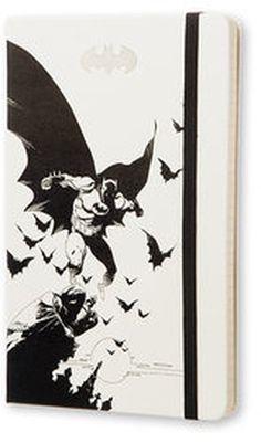 Notes Moleskine Batman w linie biały